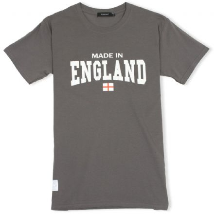 Senlak Made In England T-Shirt - Charcoal